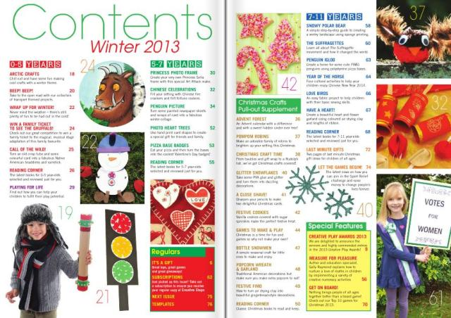 Winter 13 Contents