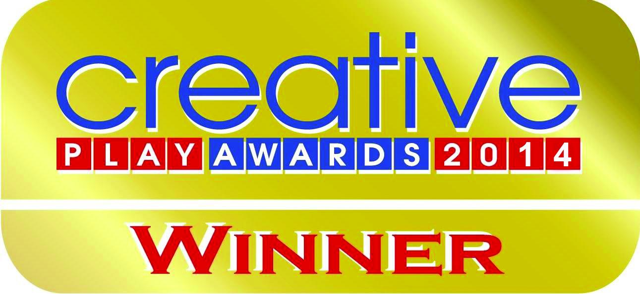 2014 Creative Play Awards Winner logoNew