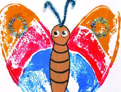 Shoeprint Butterflies