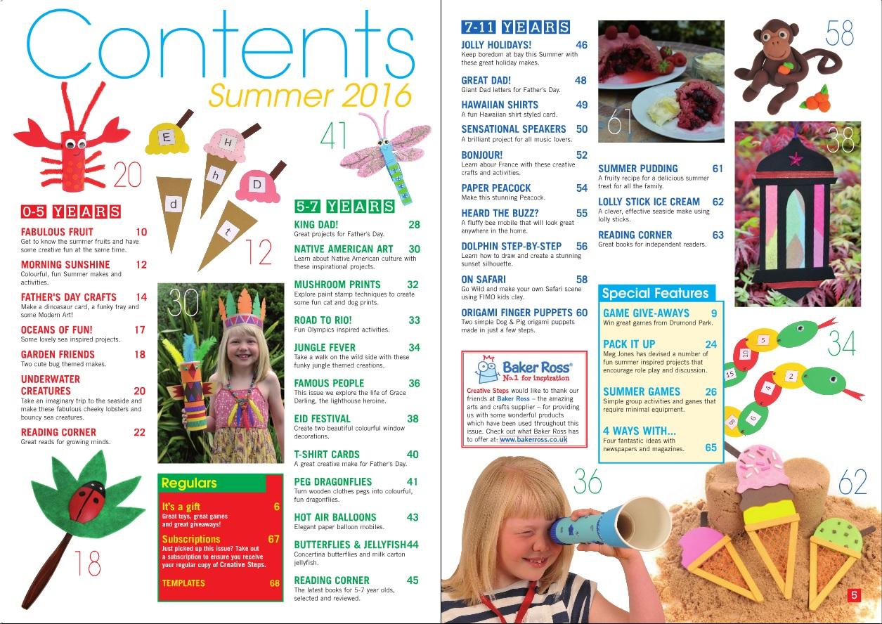 Summer16 contents