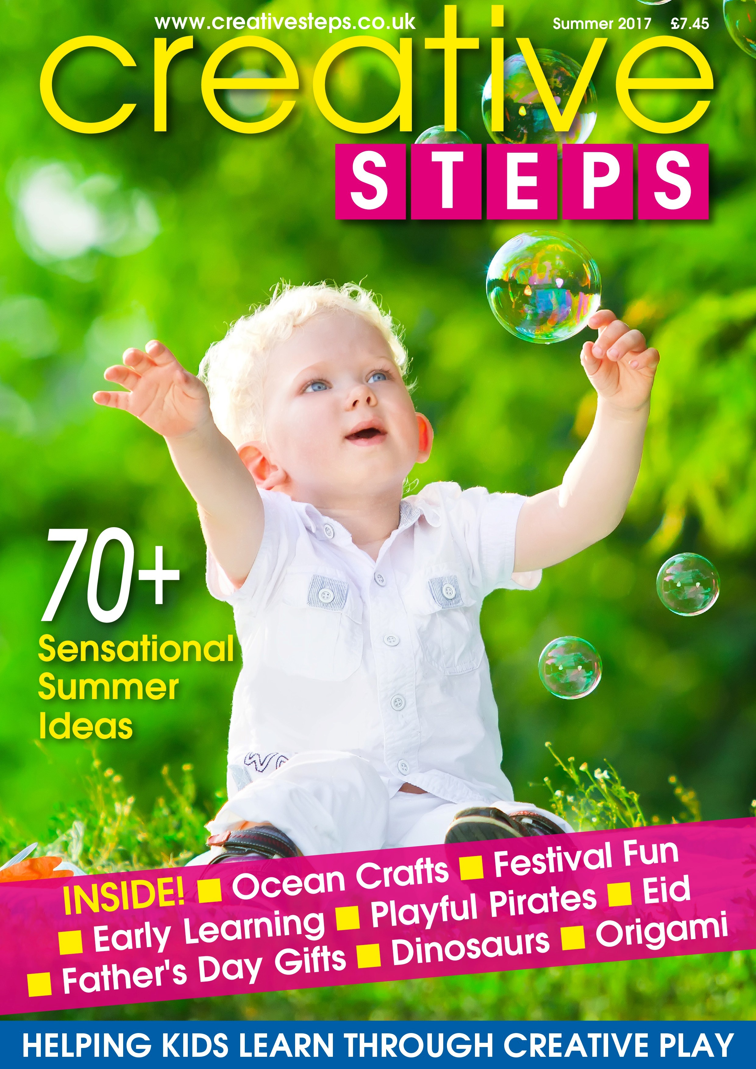 Creative Steps – Summer 2017 (issue 54)