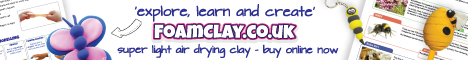 FoamClay – explore, learn & create