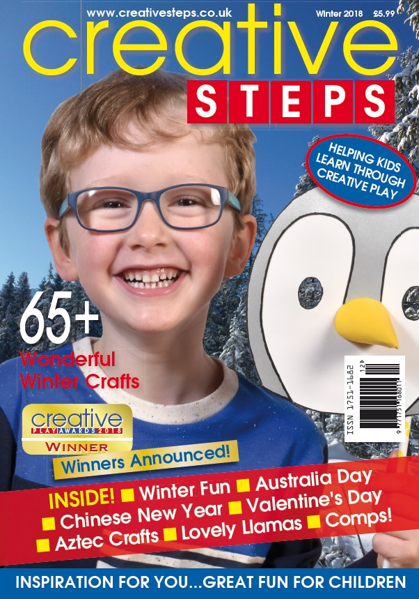 Creative Steps Winter 2018 (issue 60)