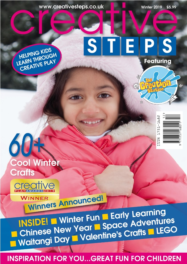 Creative Steps Winter 2019 Issue 64