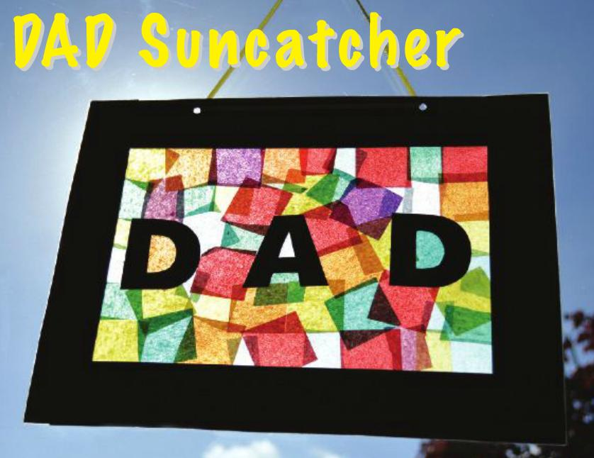 Dad suncatcher