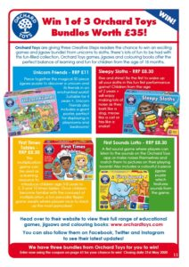 Orchard Toys game bundles to win!