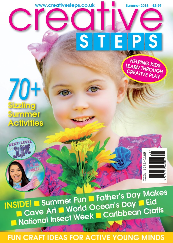 Creative Steps Summer 2018 (issue 58)