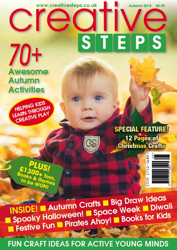 Creative Steps Autumn 2018 (Issue 59)