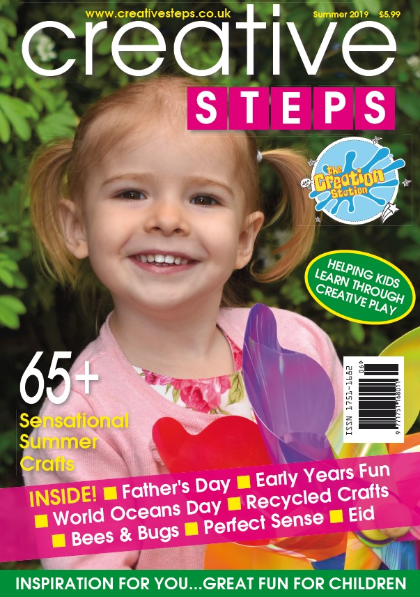 Creative Steps Summer 2019 Issue 62