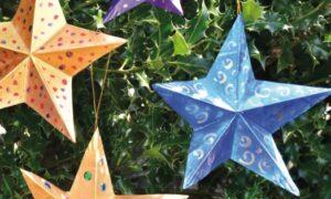 3D Christmas Stars