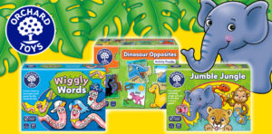 Educational games from Orchard Toys