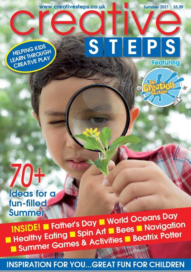 Creative Steps Summer 2021 Issue 70